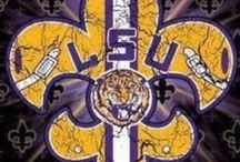 LSU / by Dreamias Creations Stampin' Up! demo Dreamia Toloso