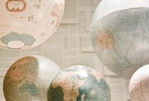 Around the World / Globes, maps and other resources to see the world! / by Lately Lily