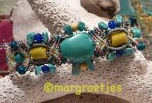 Macrame bracelets  / made by Margroetjes
