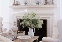 Fireplace / Inspiration for our current fireplace