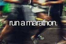 First MARATHON! / October 5th 2014. Time to work it!  / by Faith Ann