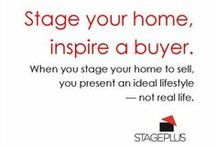 STAGE+ Wise Words / Words of wisdom about #homestaging: pithy statements, short prose, pontifical statements and more, you'll find them all here. :)