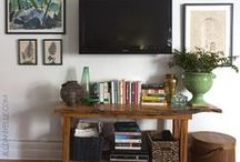 Balancing the TV / Easy and affordable ways to balance your TV so it doesn't dominate the room