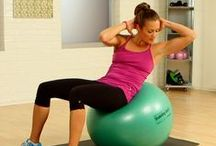 exercise: core, arms & uppper body / by Linda Sanders