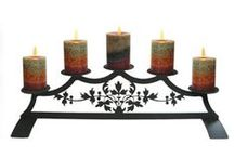 Candle Holders / Candles are a beautiful accent for any home and decorative candle holders make them even better!