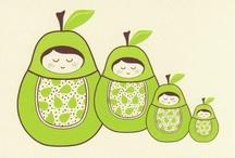 Each peach pear plum / Fresh n fruity / by Victoria Morgan