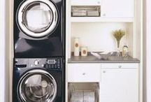 Laundry Room / An attempt to make laundry more bearable with a fabulous laundry room...