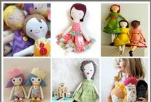Sewing: Dolls & Softies / by Helena Handbasket