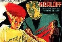 Vintage SciFi Horror Bmovie posters
