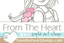 MY From the Heart Stamps Creations