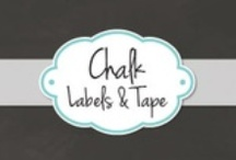 Chalk Labels & Tape