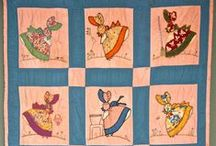 Quilts / I don't quilt but my grandmother and great grandmothers did.  I just love the designs and the colors, the different patterns that makes a quilt beautiful and of course the love put into a quilt! / by Stacey Draper