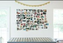 Photo Display Ideas / Get your photos off of your computer and onto your walls!