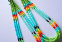 Native beadwork / My grandmother did this kind of work and I am getting back to doing it also! / by Stacey Draper