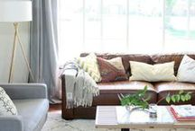 Living Room / Designing a warm, beautiful and functional living room!
