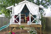 Playhouse Extraordinaire / Kid playhouse and hideout