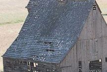 OLD BARNS & OUT BUILDINGS / by Cindy Smith Tappe