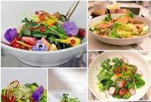 Restaurant Salads / Some of the most delicious looking salads made by restaurants.