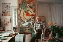 """Top 4 Masters of the 20th Century / This album contains the top four masters of the 20th century - Dali, Chagall, Picasso, and Miro.  -Salvador Dali """"I am Surrealism"""".  -Marc Chagall """"Great art picks up where nature ends"""".  -Pablo Picasso """"Bad artists copy. Good artists steal"""". -Joan Miro """"The simplest things gives me ideas""""."""