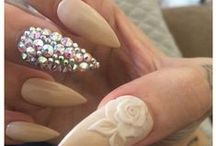 Nails! / Nail designs I love! Nail designs I've done! Nail Colors I love! / by Lisa Gruszewski