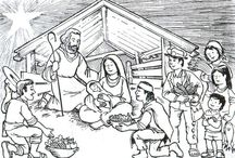 Coloring Pages >> Christmas / by Bernadette Kay Post Nierman
