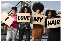 Beauté noire / Celebrating the beauty of women of color.