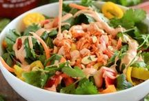 Salads and Side Dishes / Salads and side dishes made from the freshest ingredients to create healthy and delicious flavors.