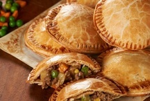 Savory Hand Pies.... / ~ Savory Yumminess To Eat With Your Hands ~ / by Iris Barker Cowl