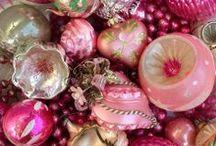 Antique/Vintage Christmas Ornaments / Blown glass, Dresden, Victorian Scrap, Spun Cotton, etc. / by Beth Grudt