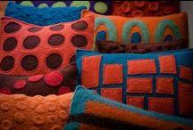 Fine craft: Fiber Decorative / Decorative fiber work by PMA Craft Show artists.