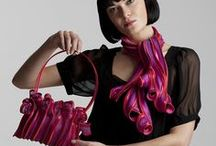 Fine craft: Fiber Wearable / Wearable work by PMA Craft Show participating artists.