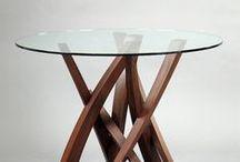 Fine craft: Furniture / Furniture pieces from PMA Craft Show artists.