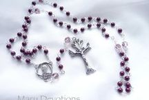Mary Devotions / Rosaries and religious jewelry
