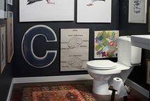 A Home: Bathrooms / by Kate Davis