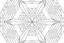 Coloring Pages >> Mandalas / by Bernadette Kay Post Nierman
