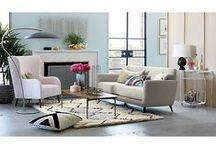 A Home: Living Room / by Kate Davis