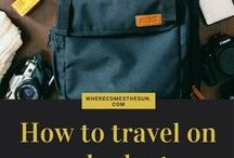 Travel - Tips & Tricks / Travel, travel tips, travel the world, holiday, vacation, backpacking, solo travel, flying, flights, long haul flights, packing
