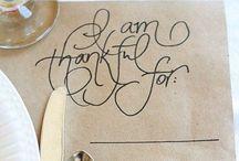 Thanksgiving  / by Melanie