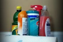 Cleaning Tips & Homemade Cleaning Products / by Katrina Rodriguez
