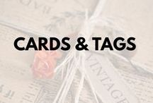 Cards & Tags / #tags and #cards