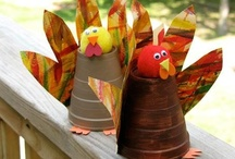 Crafts: Thanksgiving / Fun fall crafts to enjoy with your Little! For more great ideas, check out our pinboards, email your MSS or learn more about BBBS at: www.bigmentoring.org