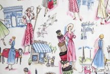 Kitsch & Vintage Fabric / by Anita Russell