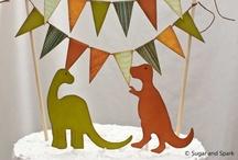 Dinosaur Nameday Celebration / Dinosaur themed birthday party.