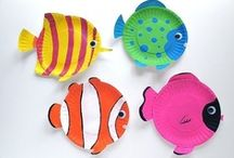 Crafts: Summer / Fun summer crafts to make with your Little!! For more ideas, see our other pinboards. For more info about BBBS, visit www.BigMentoring.org