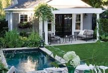 patio and shed / by Beth Brake