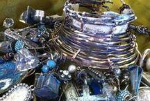 Bracelets / Beautiful handmade bracelets / by Melinda Barnett