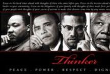"""Black History Tribute / Found incredible pins here on Pinterest and did not have a board dedicated to the topic, so this board was created.  Additionally my inspiration is credited to the CEO of Black in Time Enterprises, Hugh Gaddy, who maintains a site that shares information on the lives of Americans of African heritage all year round.  Of course, many of the pins could easily have been repinned to """"People I Admire"""". / by Cmoneyspinner's HomeBiz Projects"""
