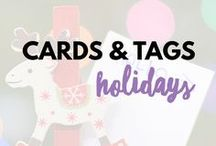 Cards & Tags - Holidays / Holiday designs and layouts