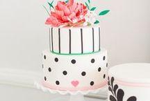 Cake Stand Ruche