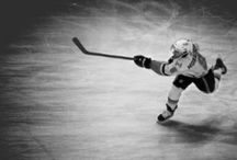 """Hockey / """"Risk something or forever sit with your dreams."""""""